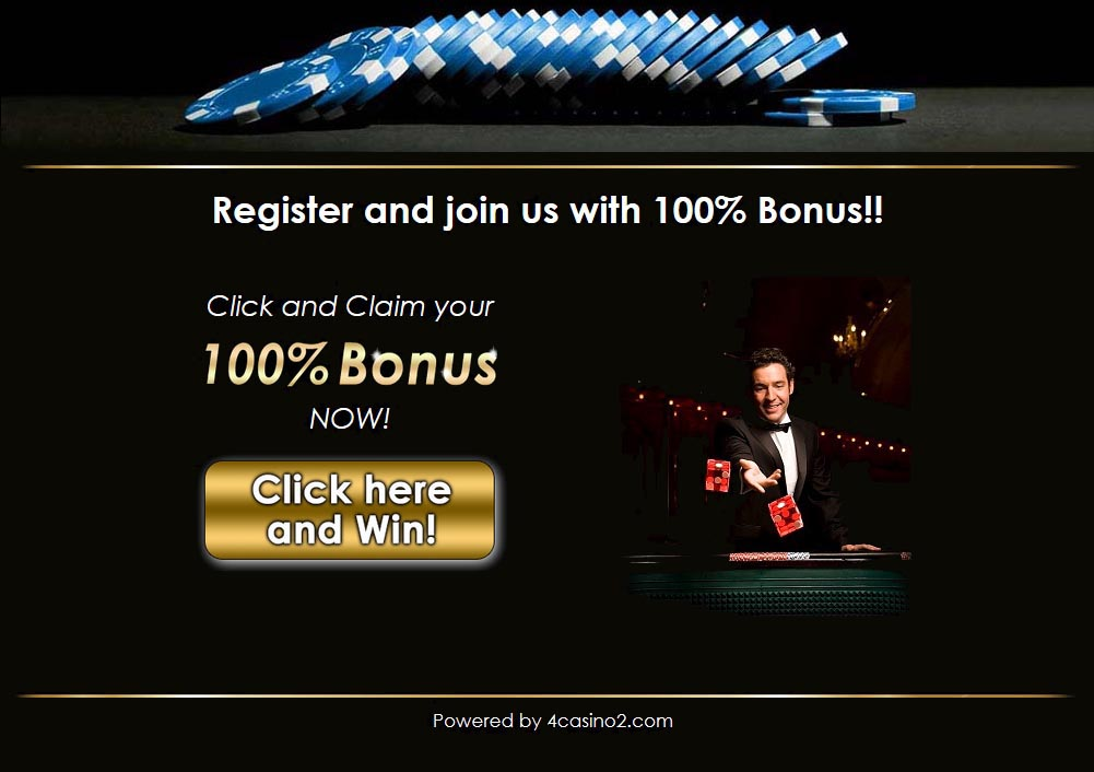 Casino landing page example
